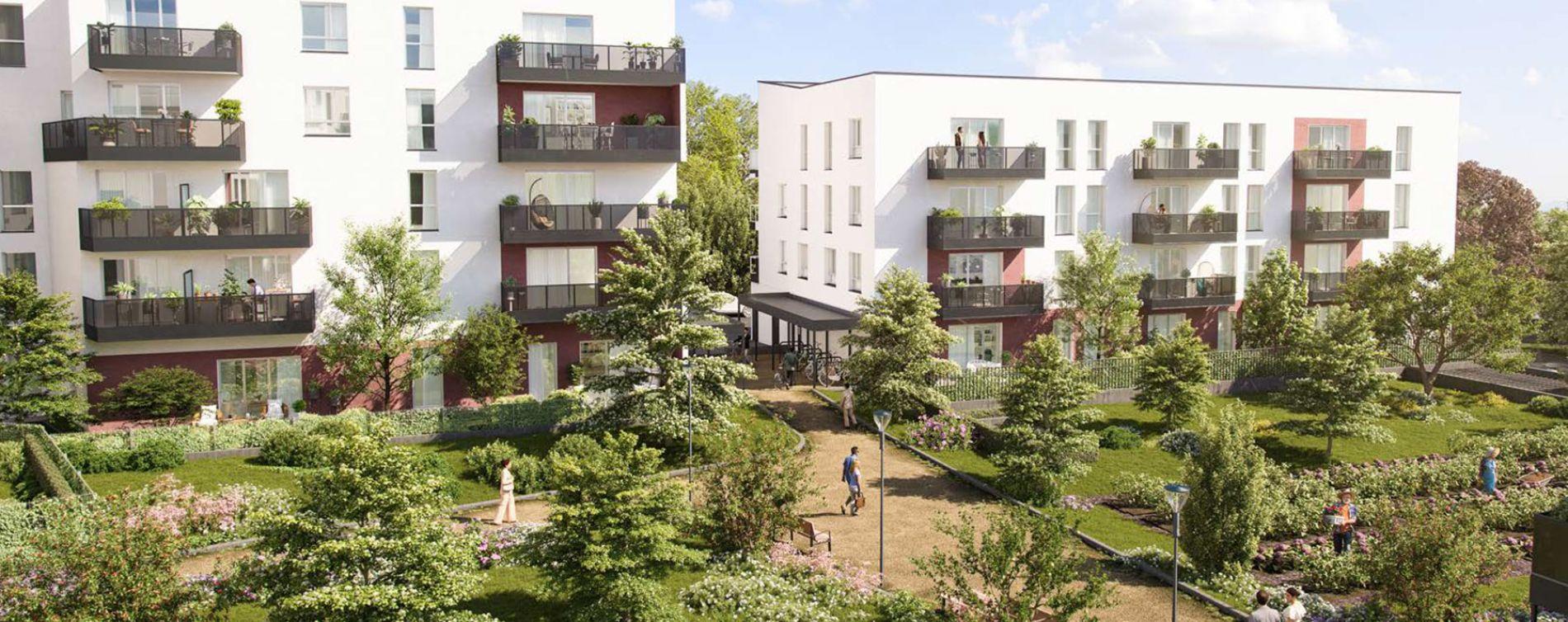 Melun : programme immobilier neuve « Nature'L » en Loi Pinel