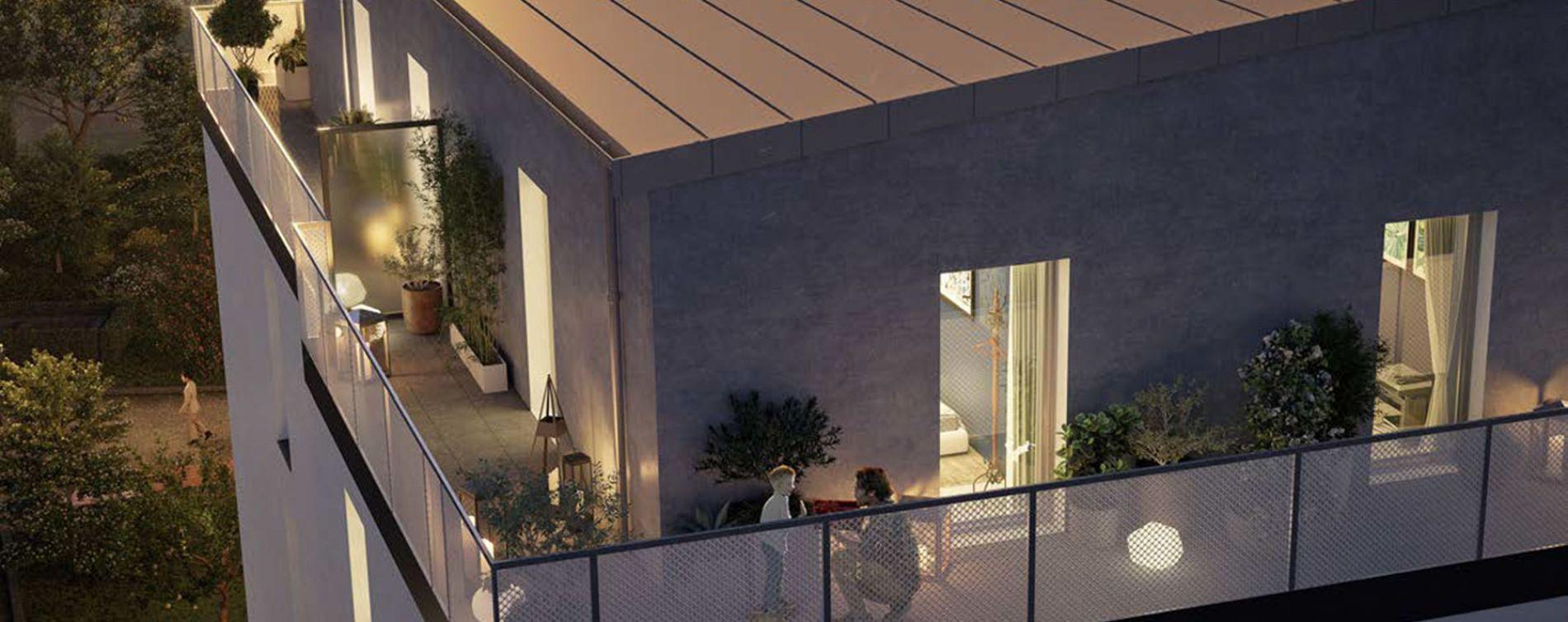 Melun : programme immobilier neuve « Nature'L » en Loi Pinel (3)