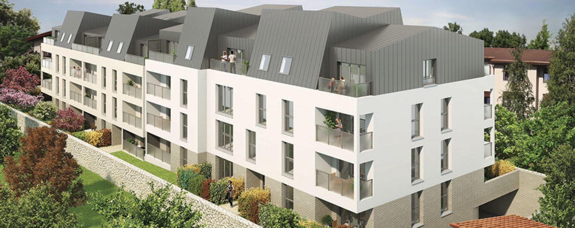 Melun : programme immobilier neuve « Pallas Résidence » (2)