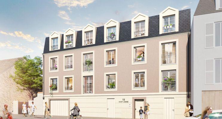 Melun programme immobilier neuf « Résidence Saint Liesne » en Loi Pinel