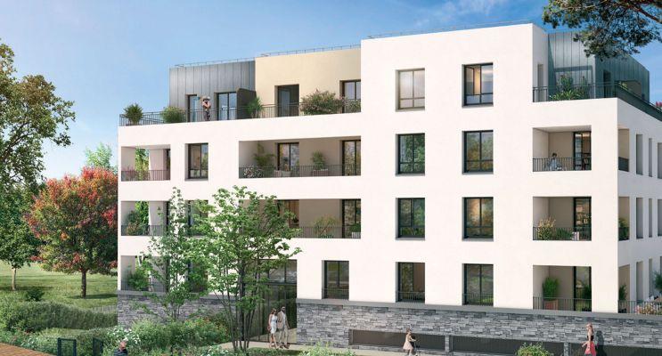 Moissy-Cramayel : programme immobilier neuf « Arboréa » en Loi Pinel