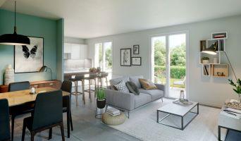 Résidence « La Ferme Côté Jardin » programme immobilier neuf en Loi Pinel à Moissy-Cramayel n°3