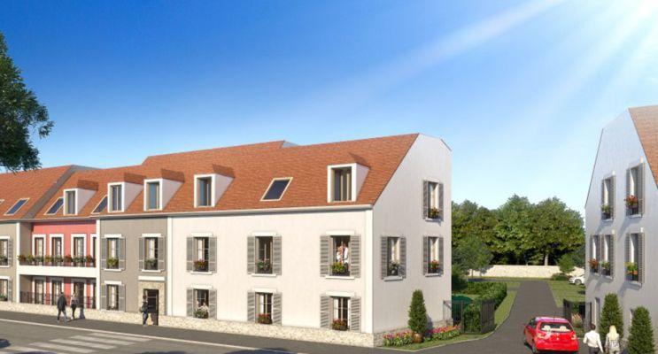 Photo du Résidence « La Ferme Côté Jardin » programme immobilier neuf en Loi Pinel à Moissy-Cramayel