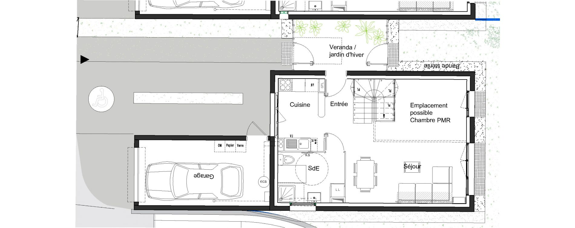 Plan T5 neuf à Moissy-Cramayel de