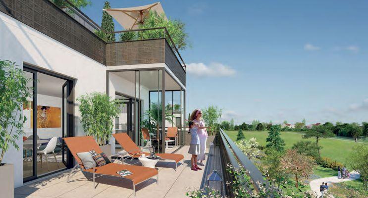Moissy-Cramayel : programme immobilier neuf « Villa Cérès » en Loi Pinel