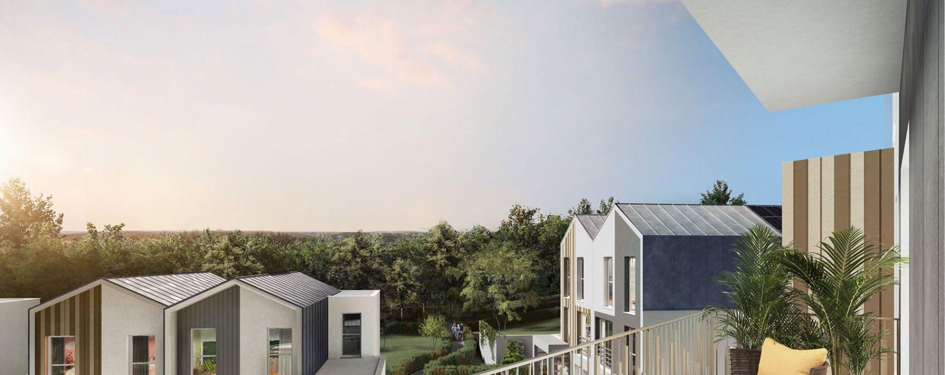 Montévrain : programme immobilier neuve « Horizon Nature » en Loi Pinel