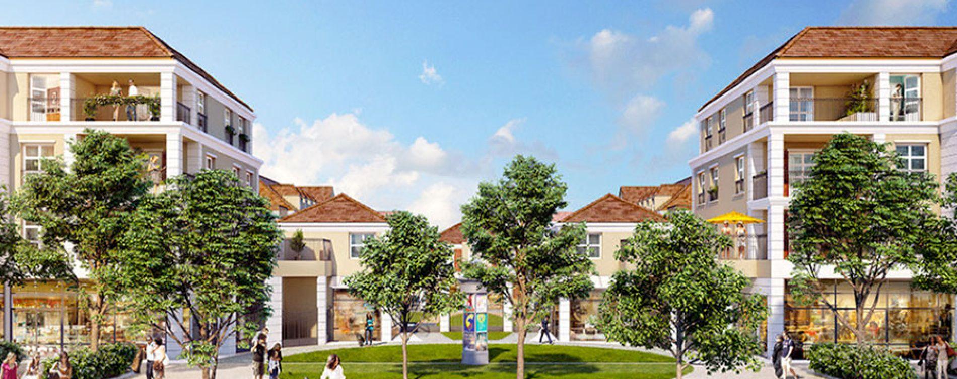 Montévrain : programme immobilier neuve « Les Allées de Montevrain » en Loi Pinel