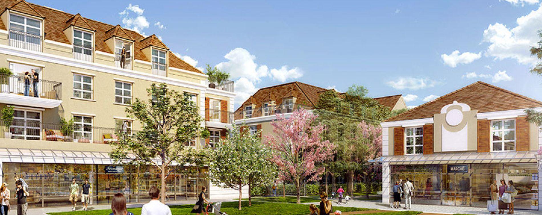 Montévrain : programme immobilier neuve « Les Allées de Montevrain » en Loi Pinel (2)