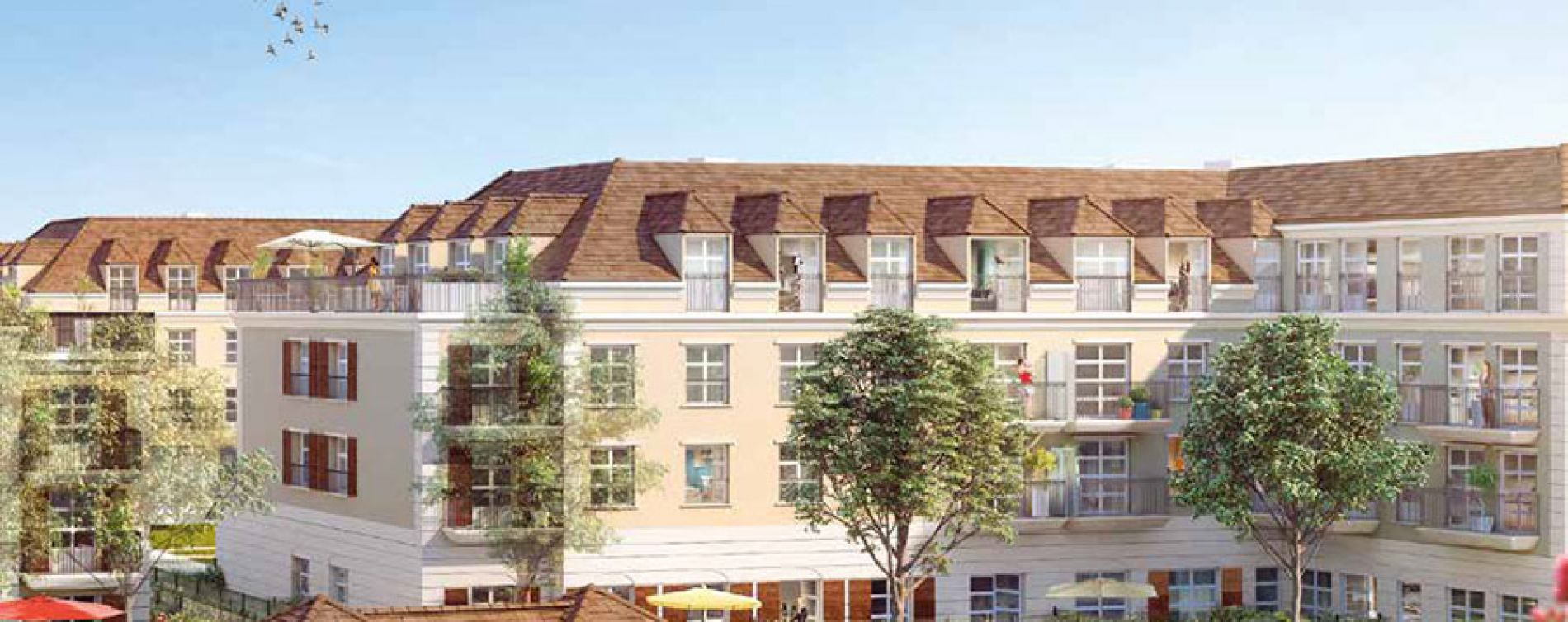 Montévrain : programme immobilier neuve « Les Allées de Montevrain » en Loi Pinel (5)