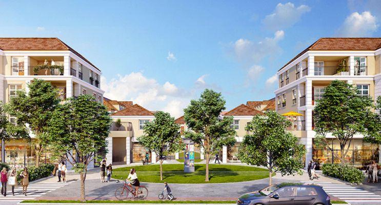 Montévrain : programme immobilier neuf « Les Allées de Montevrain » en Loi Pinel