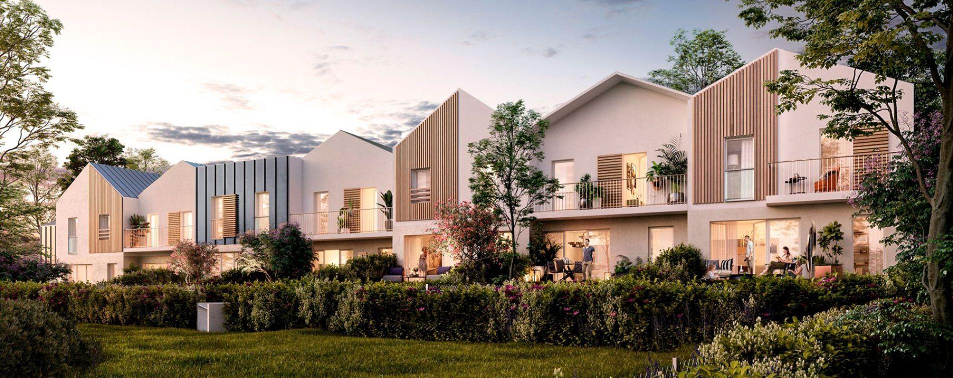 Montévrain : programme immobilier neuve « L'Orée du Bois » en Loi Pinel