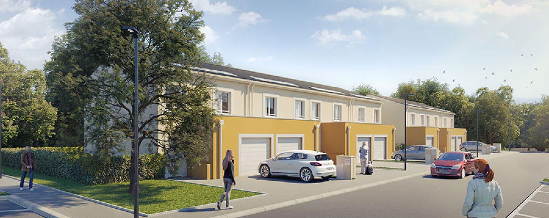 Mormant : programme immobilier neuve « Natura Park Phase 2 » (2)