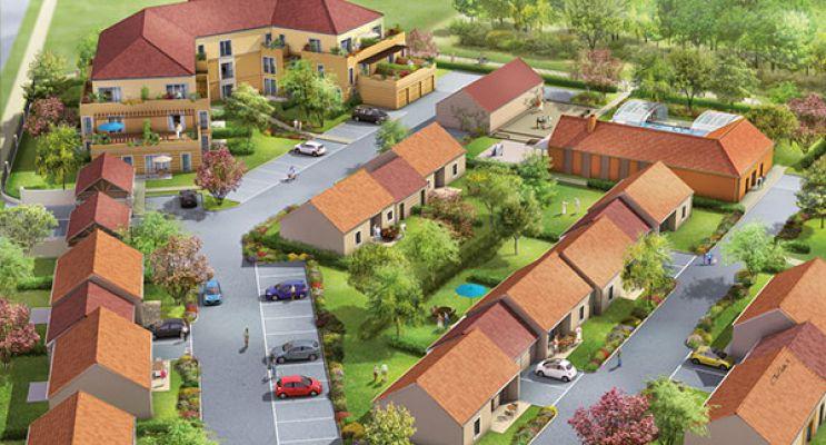 Photo du Résidence « Les Senioriales de Nandy » programme immobilier neuf en Loi Pinel à Nandy