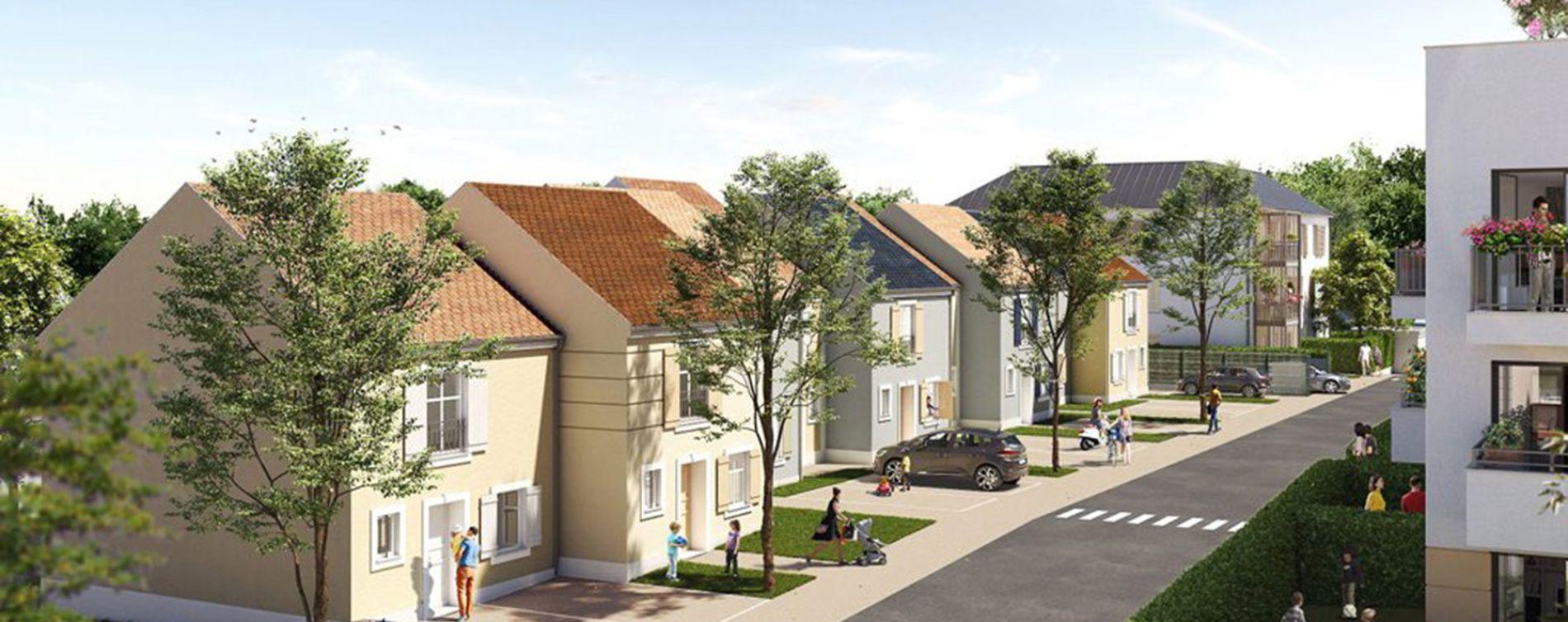 Ozoir-la-Ferrière : programme immobilier neuve « Côté Faubourg » en Loi Pinel