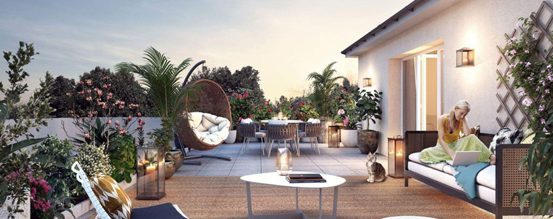 Ozoir-la-Ferrière : programme immobilier neuve « Côté Faubourg » en Loi Pinel (2)