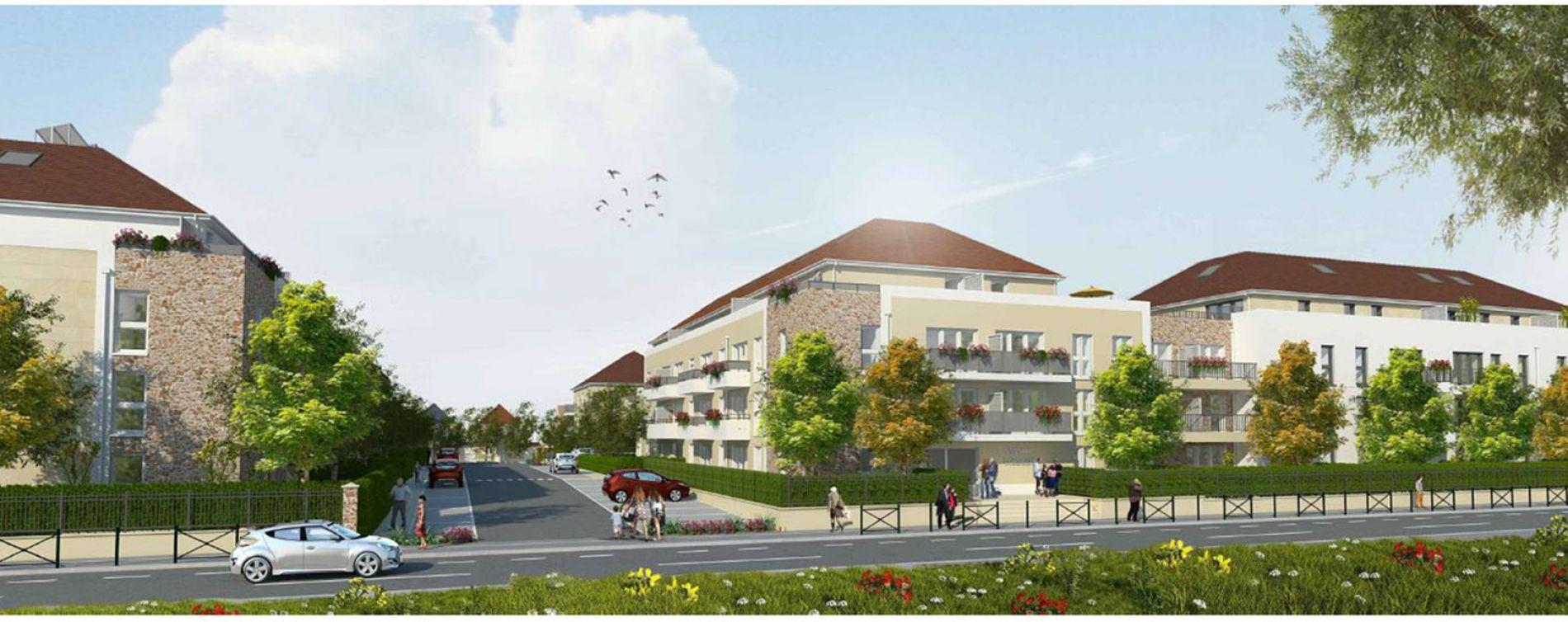 Ozoir-la-Ferrière : programme immobilier neuve « Côté Faubourg » en Loi Pinel (3)