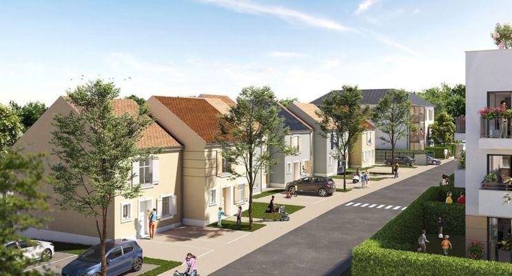 Ozoir-la-Ferrière : programme immobilier neuf « Côté Faubourg » en Loi Pinel
