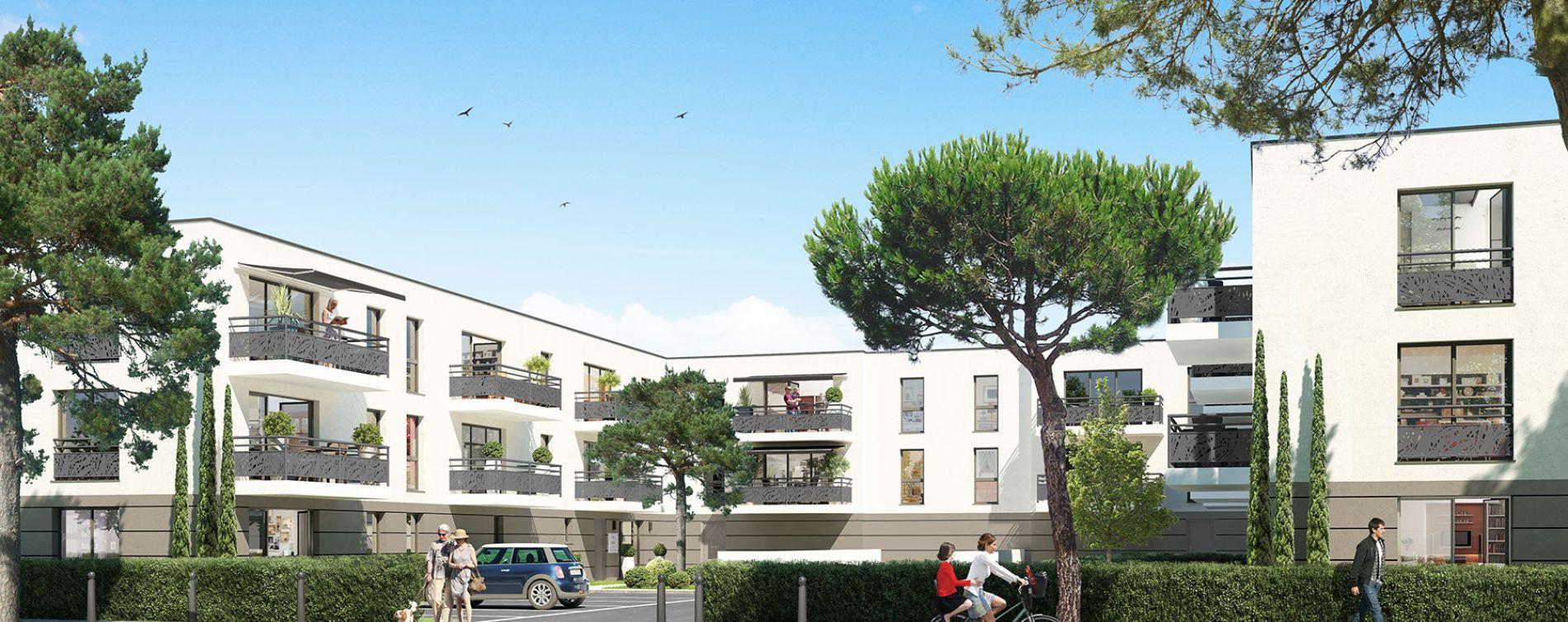 Pringy : programme immobilier neuve « Carré Abélia » en Loi Pinel