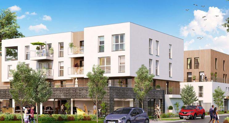 Résidence « Inédit » programme immobilier neuf en Loi Pinel à Roissy-en-Brie