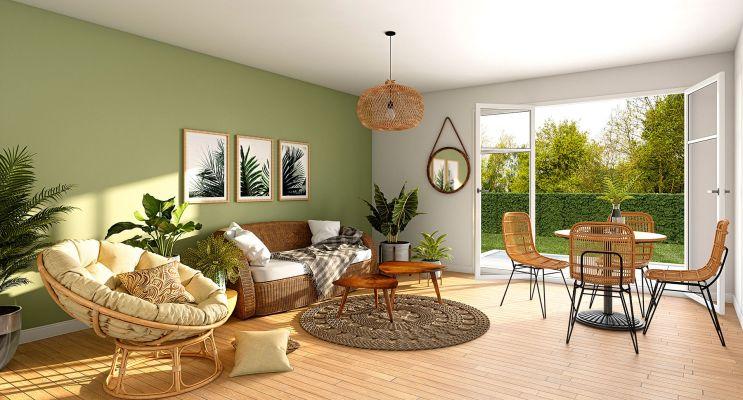 Photo du Résidence « Coeur Verde » programme immobilier neuf en Loi Pinel à Savigny-le-Temple