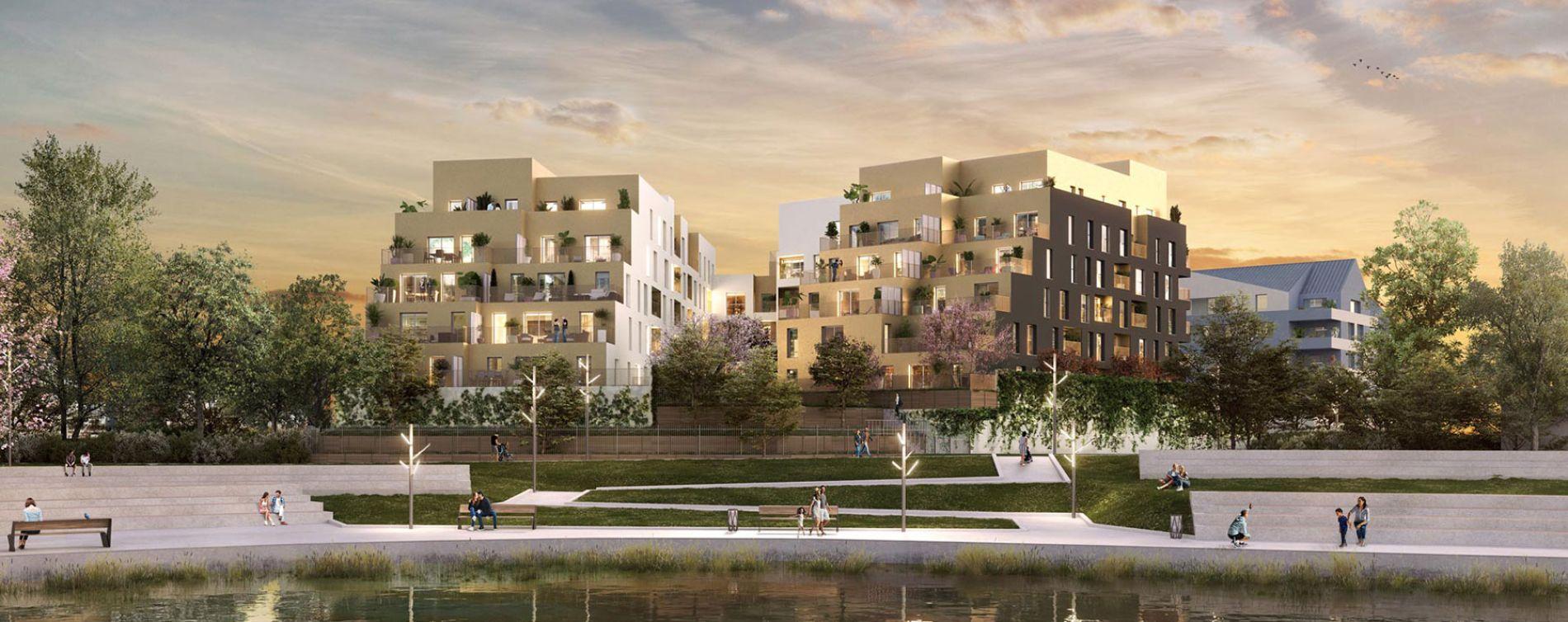 Savigny-le-Temple : programme immobilier neuve « Les Lucioles »
