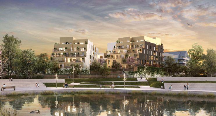 Photo du Résidence « Les Lucioles » programme immobilier neuf en Loi Pinel à Savigny-le-Temple