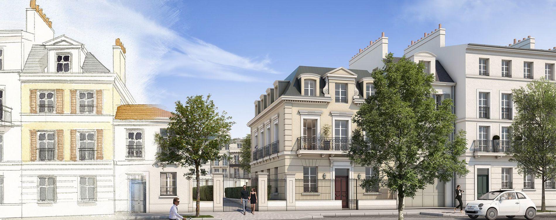 Serris : programme immobilier neuve « Au temps du Faubourg » en Loi Pinel (4)