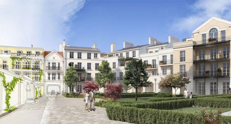 Serris : programme immobilier neuf « Au temps du Faubourg » en Loi Pinel