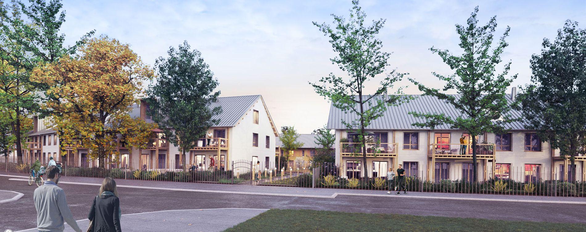 Serris : programme immobilier neuve « L'Heure Bleue » en Loi Pinel (2)