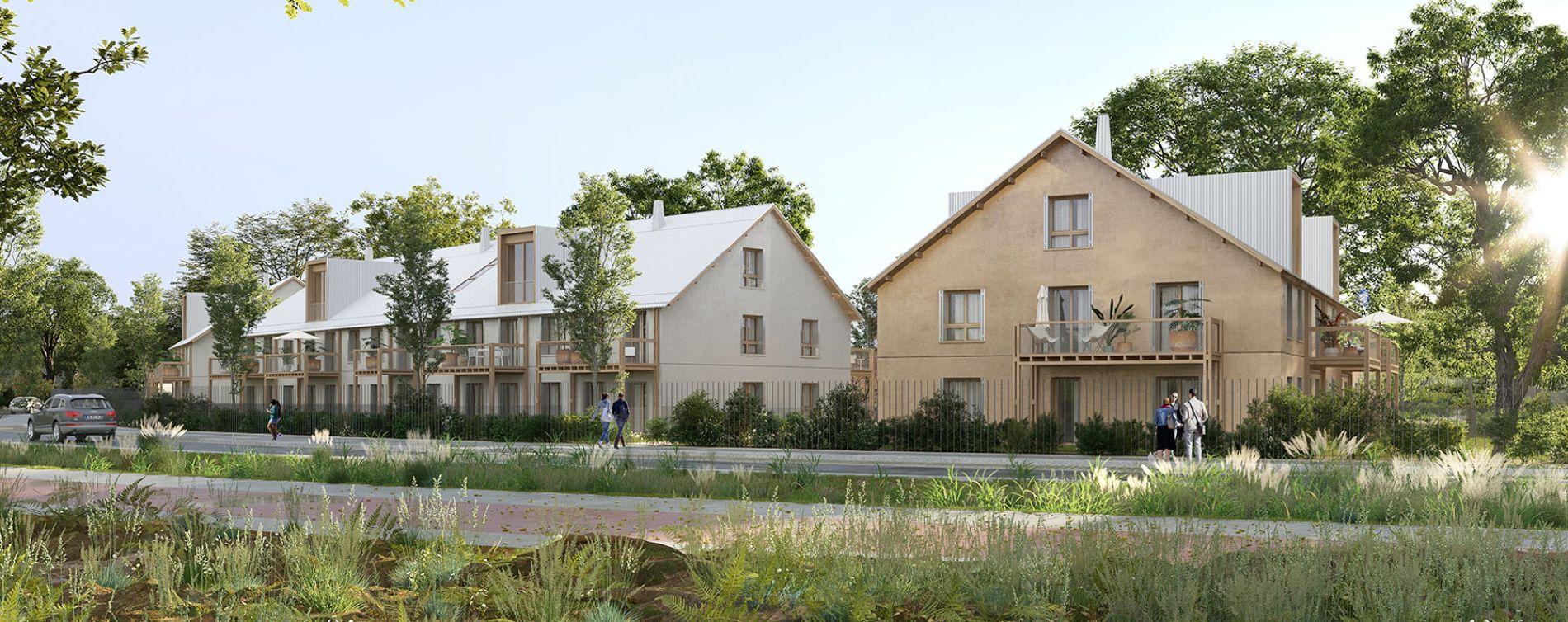 Serris : programme immobilier neuve « L'Heure Bleue » en Loi Pinel (3)