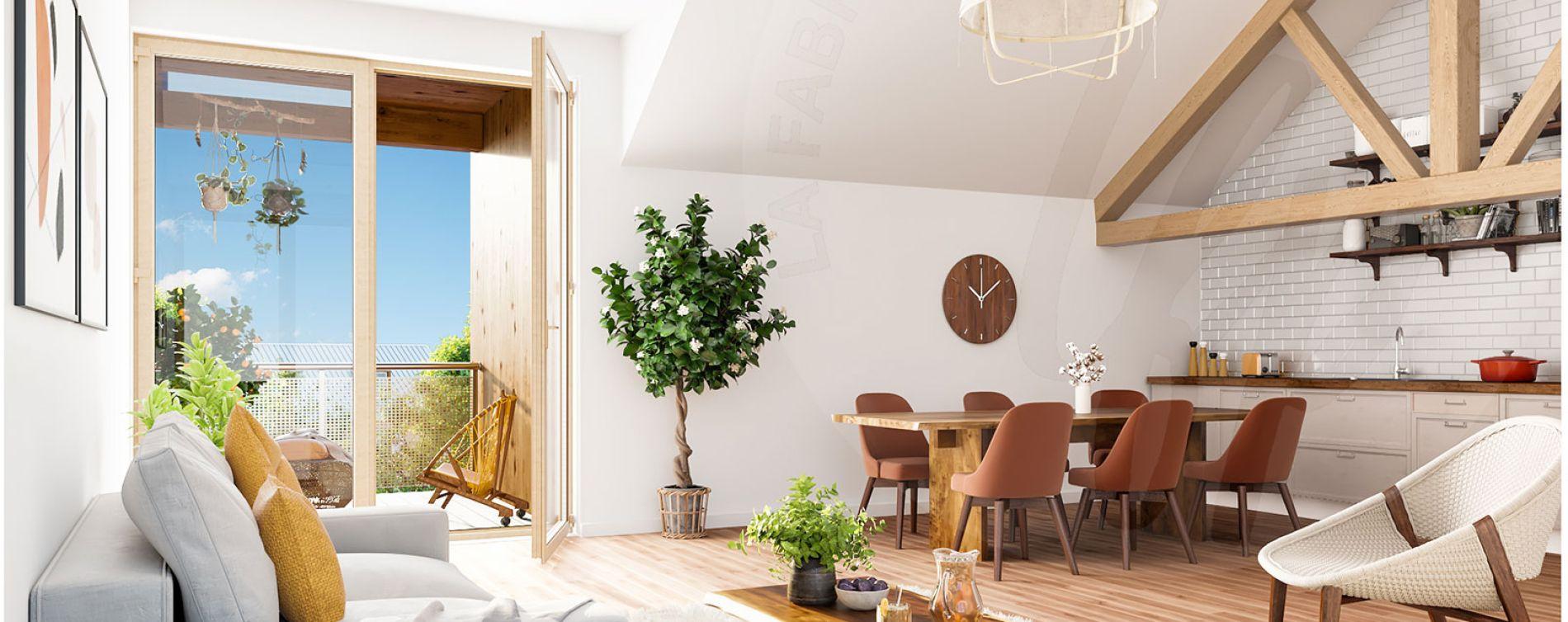 Serris : programme immobilier neuve « L'Heure Bleue » en Loi Pinel (5)