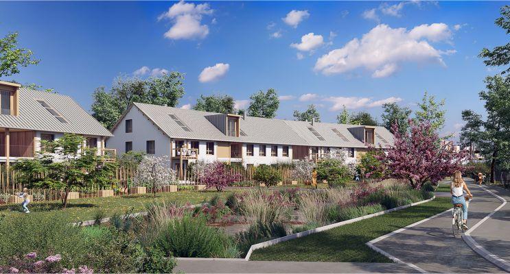 Serris programme immobilier neuf « L'Heure Bleue