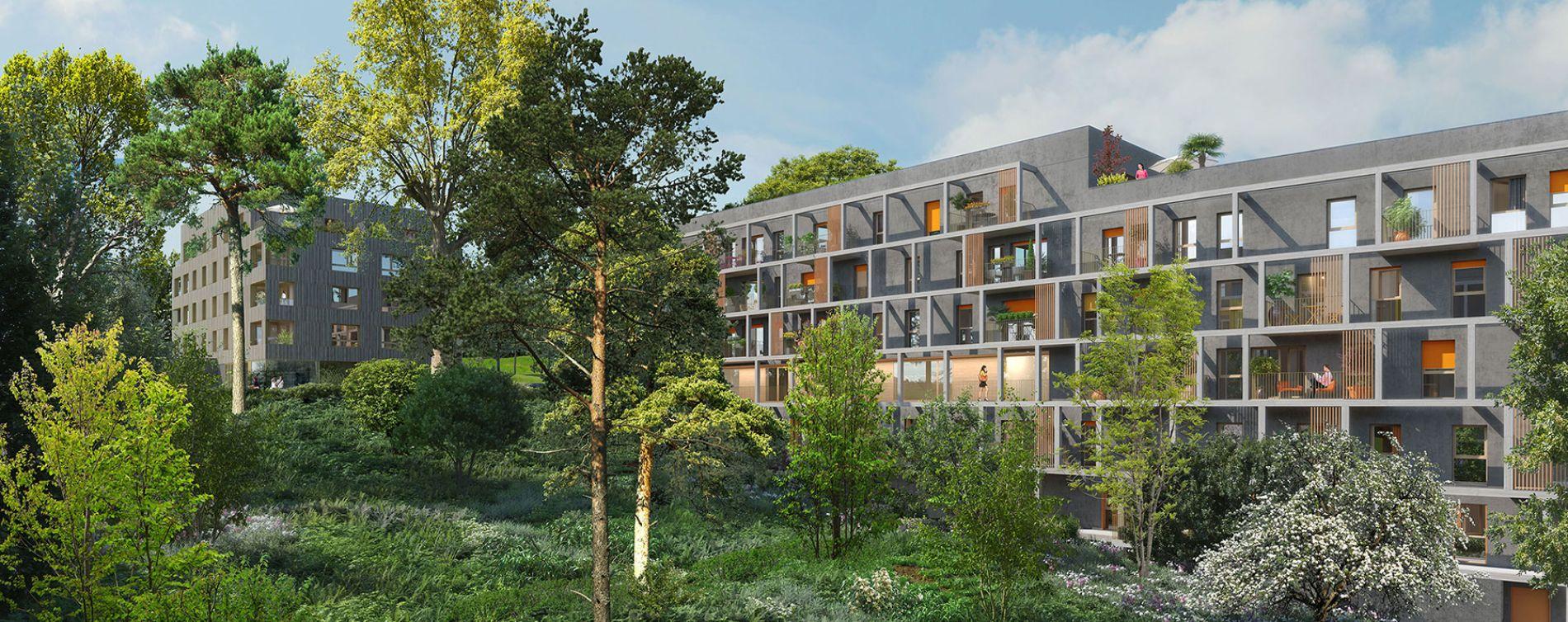 Torcy : programme immobilier neuve « Nature & Coteaux » (3)