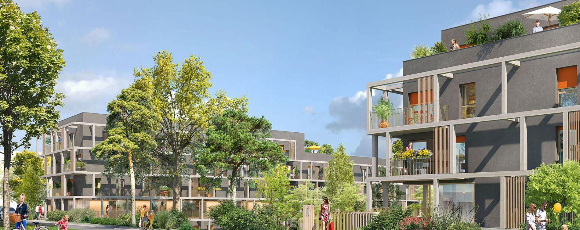 Torcy : programme immobilier neuve « Nature & Coteaux » (4)
