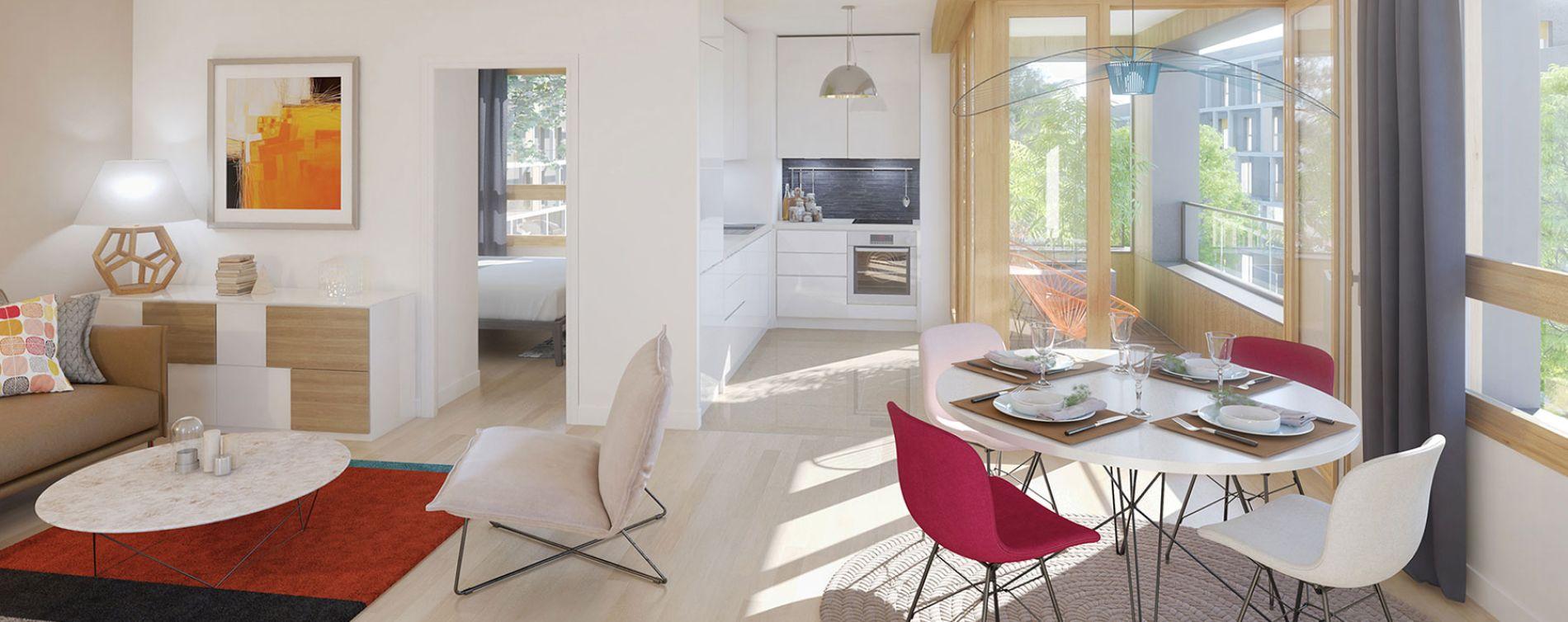 Torcy : programme immobilier neuve « Nature & Coteaux » (5)