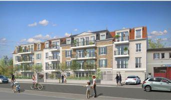 Vaires-sur-Marne : programme immobilier neuf « Villa 17 » en Loi Pinel