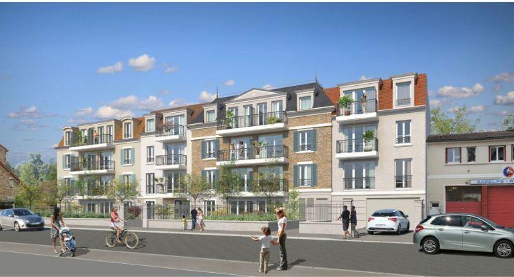 Vaires-sur-Marne programme immobilier neuf « Villa 17 » en Loi Pinel