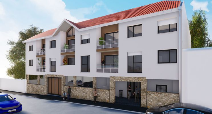 Vaux-le-Pénil : programme immobilier neuf « Etoile St Just » en Loi Pinel