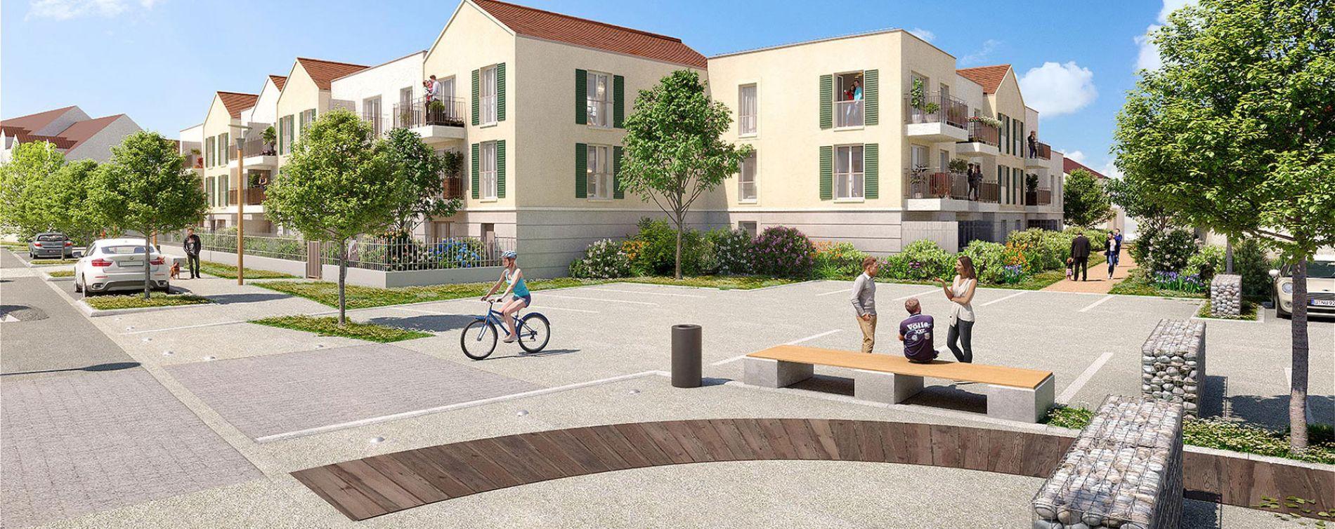 Vaux-le-Pénil : programme immobilier neuve « Villa des Ormessons » en Loi Pinel