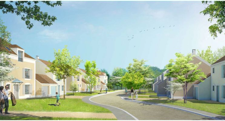 Photo n°2 du Résidence « L'Ecrin » programme immobilier neuf en Loi Pinel à Villevaudé