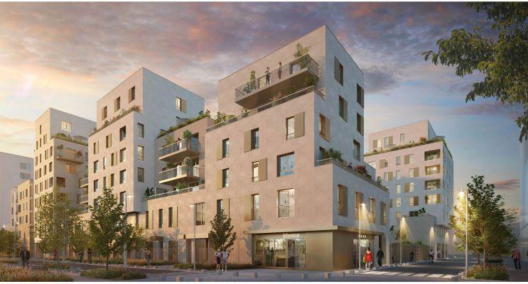 Aubervilliers programme immobilier neuf « Fort d'Aubervilliers » en Loi Pinel