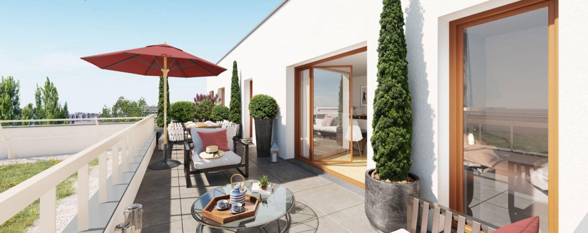 Aubervilliers : programme immobilier neuve « Programme immobilier n°219160 » en Loi Pinel (2)