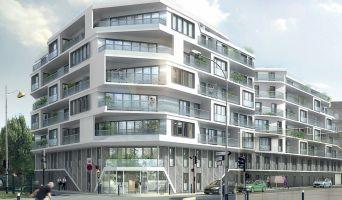 Photo du Résidence « Les Reflets Du Canal » programme immobilier neuf en Loi Pinel à Aubervilliers