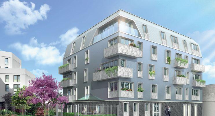 Résidence « Les Reflets Du Canal » programme immobilier neuf en Loi Pinel à Aubervilliers n°2