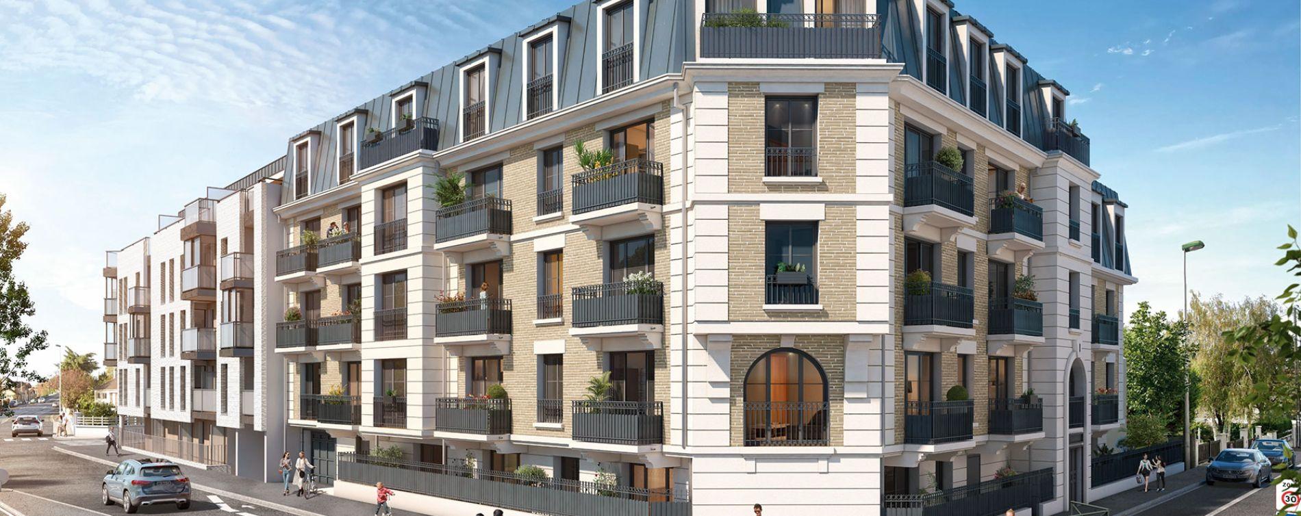 Aulnay-sous-Bois : programme immobilier neuve « Cours Boileau »