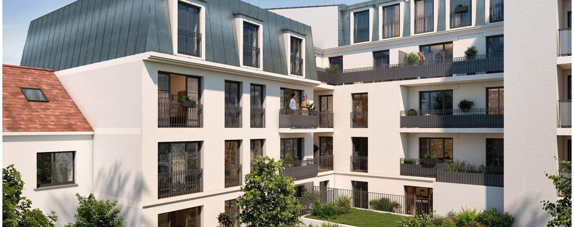 Aulnay-sous-Bois : programme immobilier neuve « Cours Boileau » (2)