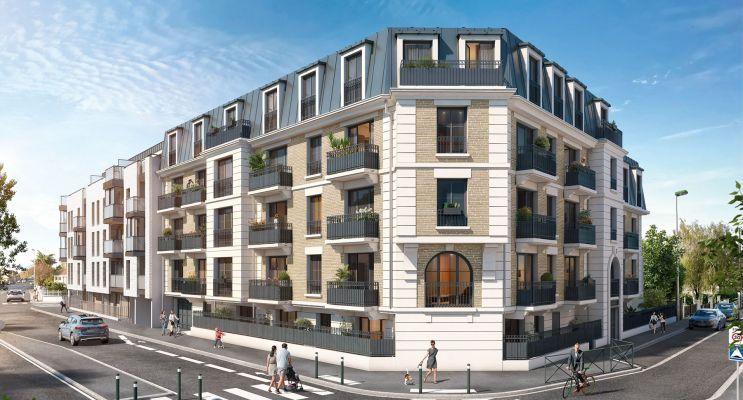 Aulnay-sous-Bois : programme immobilier neuf « Cours Boileau » en Loi Pinel