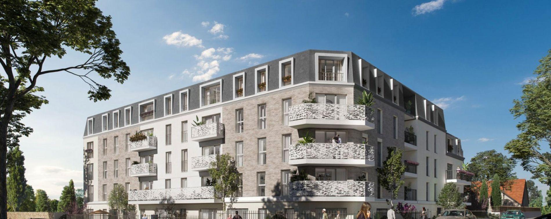 Aulnay-sous-Bois : programme immobilier neuve « Les Jardins d'Aunais » en Loi Pinel