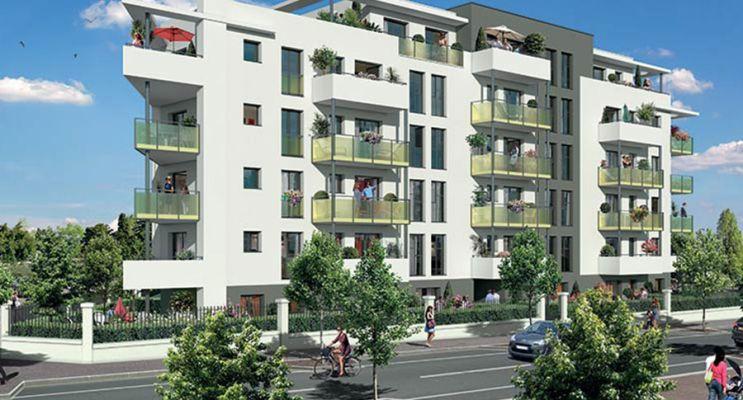 Photo du Résidence « Novelia » programme immobilier neuf en Loi Pinel à Aulnay-sous-Bois