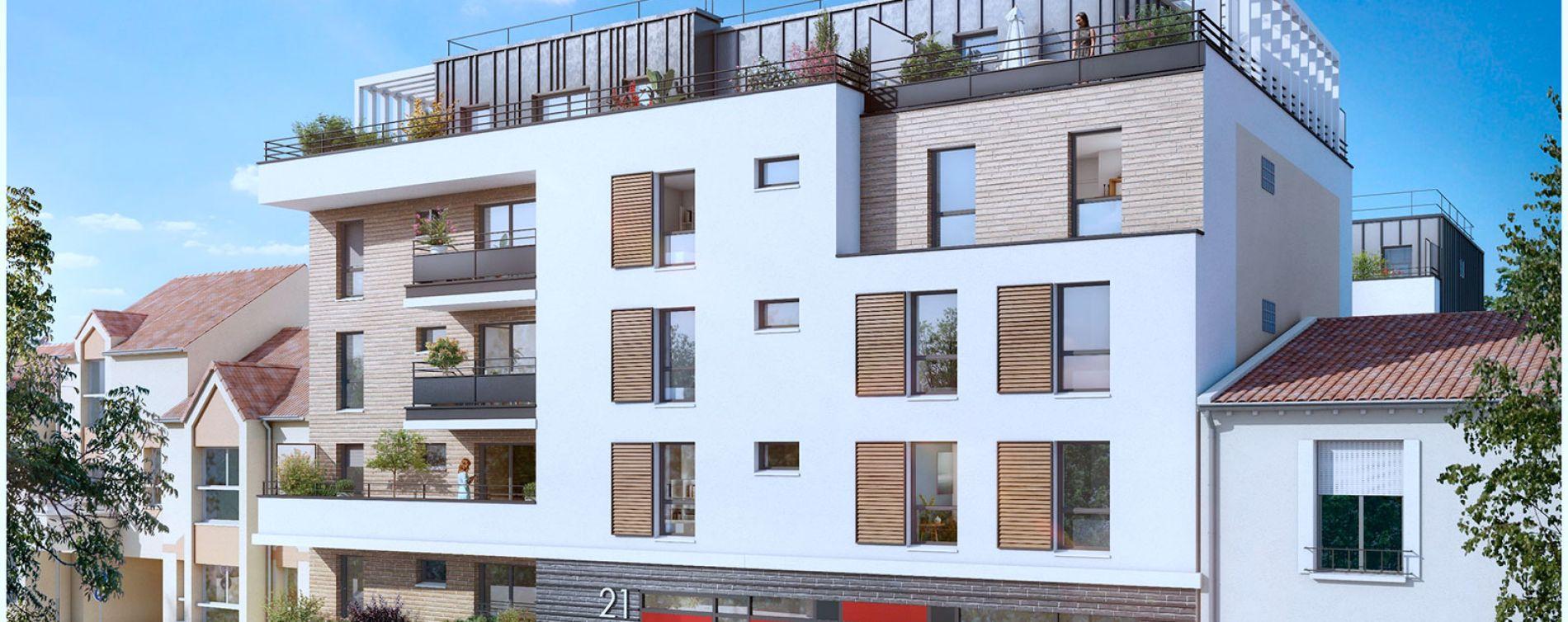 Bagnolet : programme immobilier neuve « Le Régent » en Loi Pinel